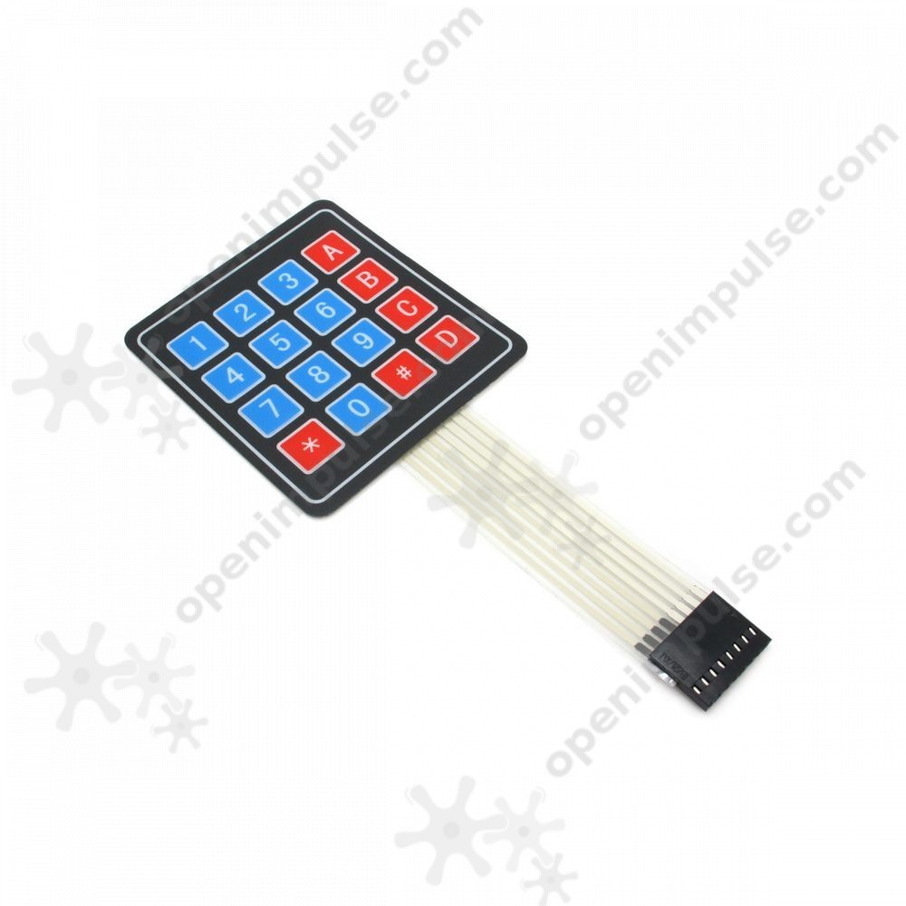 4x4 Membrane Matrix Keypad