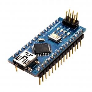 Nano Board ATmega328p + CH340 (Arduino Compatible)