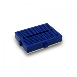 5pcs Blue Mini Breadboard