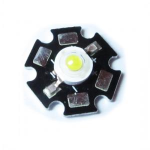 5pcs 1W Power LED Module (Green)