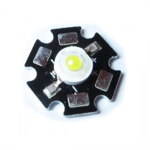 5pcs 1W Power LED Module (Red)