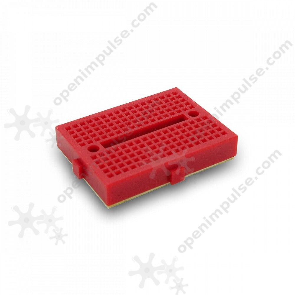 Red Mini Colored Breadboard