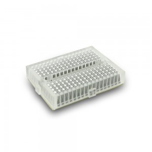 2pcs Transparent Mini Breadboard (White)