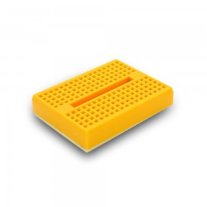 5pcs Mini Breadboard (Yellow)