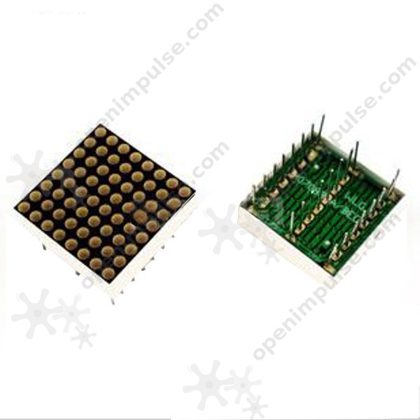 8x8 high quality LED lattice super bright red and green bi-color