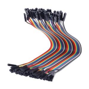 2pcs 40P Dupont Colored Wire (20 cm)