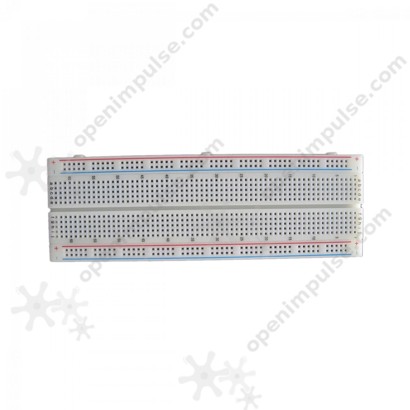 830 Holes Breadboard (17.5 x 5 cm)