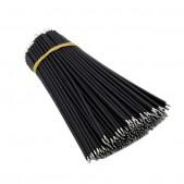 150mm Black Aberdeen Cables (1000 pcs)