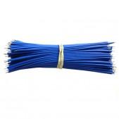 100mm Blue Aberdeen Cables (1000 pcs)