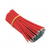 100mm Red Aberdeen Cables (1000 pcs)
