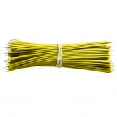 100mm Yellow Aberdeen Cables (1000 pcs)