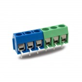 10pcs 3 Pin Terminal Block Connector (5.08 mm)