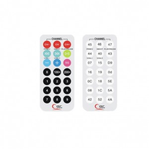 5pcs Mini Infrared Remote