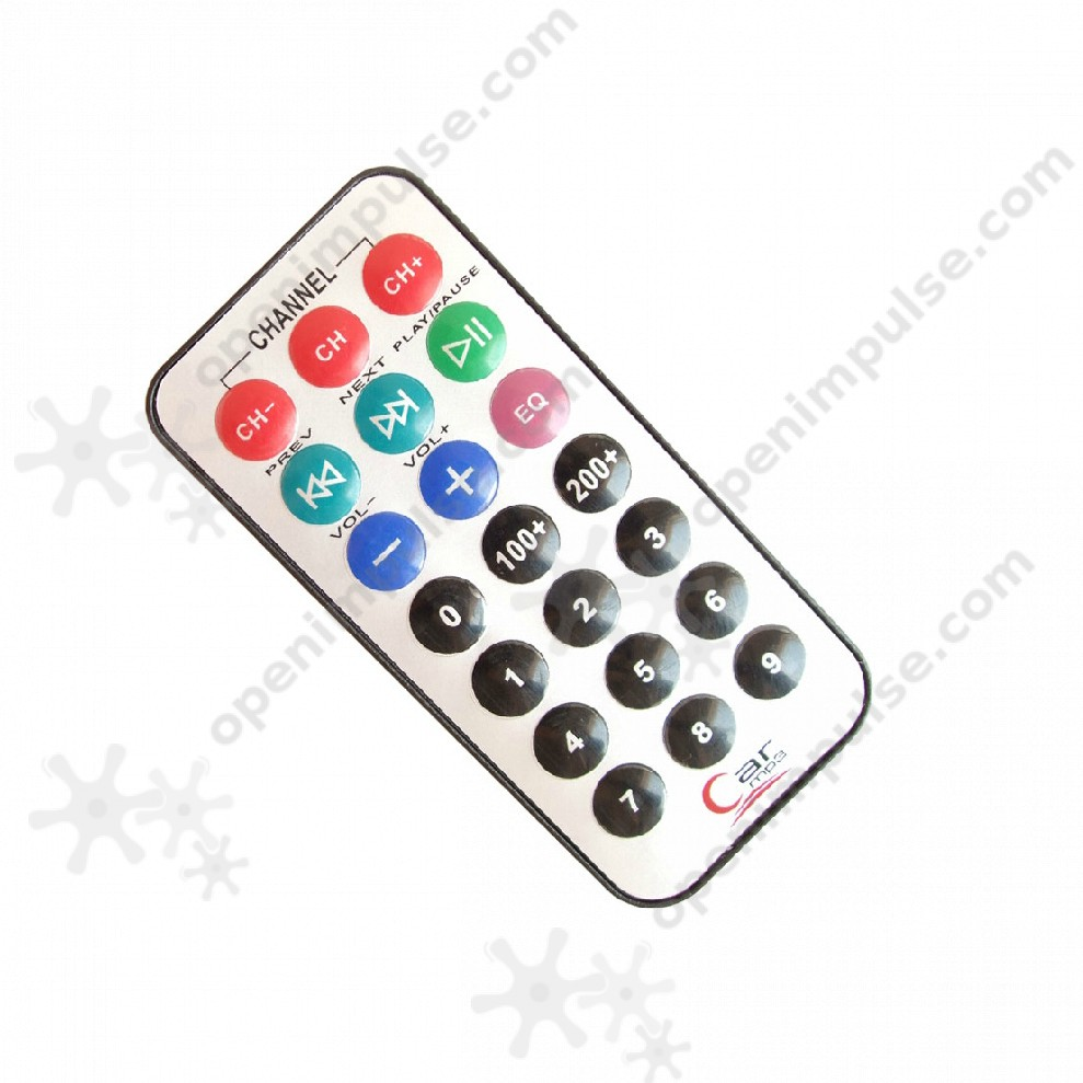 5pcs Mini Infrared Remote Open Impulseopen Impulse Control