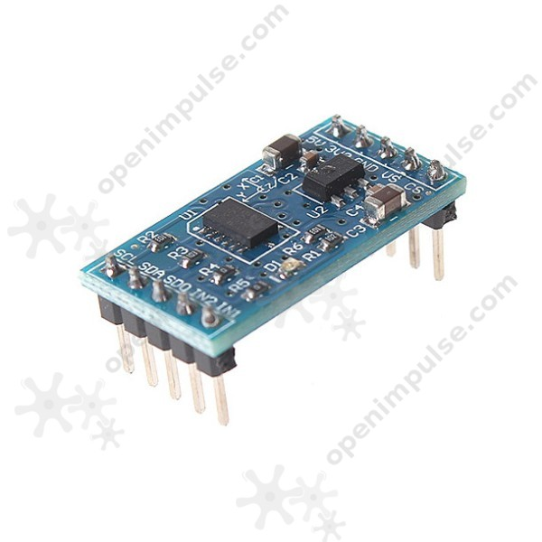 ADXL345 Digital 3-Axis Accelerometer Module | Open ImpulseOpen Impulse
