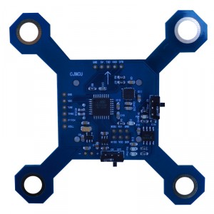 Quadcopter flight control module