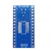 SSOP28 to DIP PCB Adapter