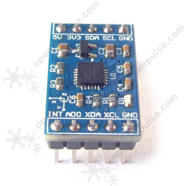 MPU-6050 Triple Axis Accelerometer and Gyro Module | Open
