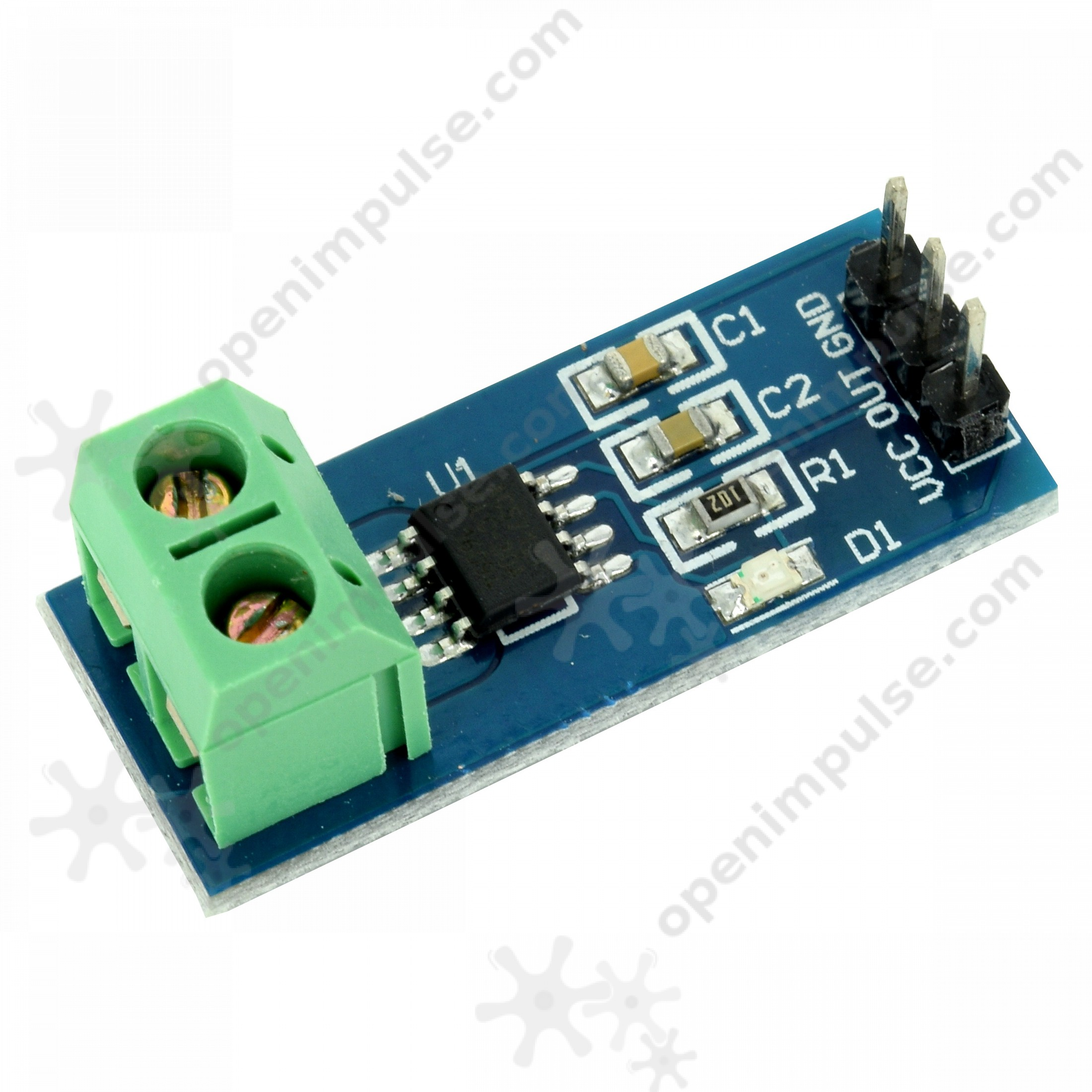 ACS712 Hall Current Sensor (20A) | Open ImpulseOpen Impulse
