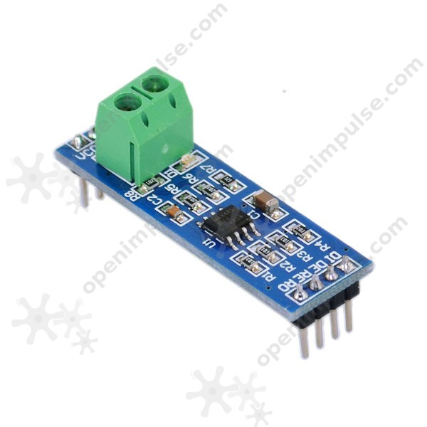 2 pcs RS485 to TTL Module UART to RS485 Converter board module