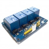 Optoisolated 5V Relay Module (4 channel)