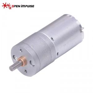 JGA25-370 DC Gearmotor (133 RPM at 6 V)