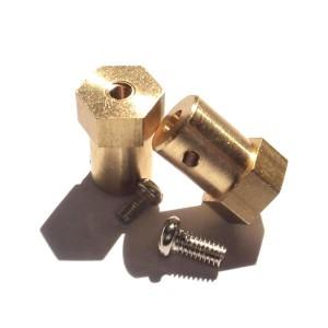 2pcs Mounting Hub for 4 mm Shafts