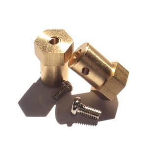 2pcs Mounting Hub for 3 mm Shafts