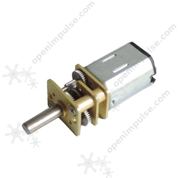 Ja12 N20 Dc Gearmotor 200 Rpm At 12 V Open Impulseopen