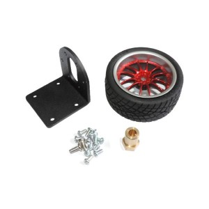 Wheel and Mounting Kit for 35 mm Gearmotors