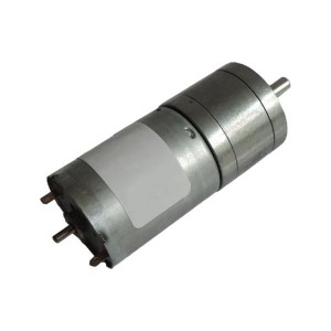 JGA25-370RC DC Gearmotor with Extended Axis (133 RPM at 12 V)
