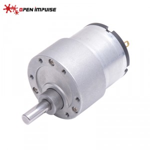 JGB37-520 DC Gearmotor (66 RPM at 12 V)