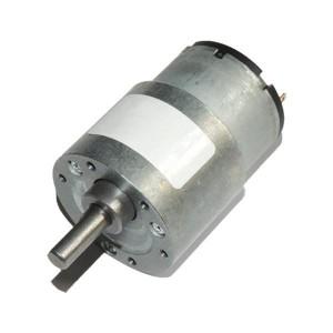 JGB37-520 DC Gearmotor (107 RPM at 24 V)
