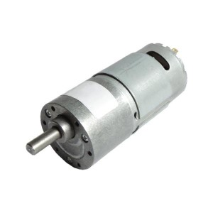 JGB37-545 DC Gearmotor (600 RPM at 24 V)