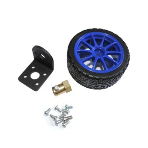 Wheel and Mounting Kit for 25 mm Gearmotors
