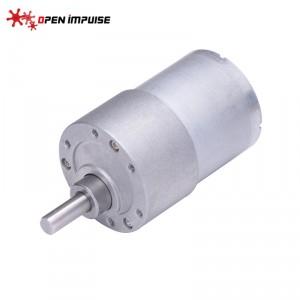 JGB37-3530 DC Gearmotor (600 RPM at 24 V)