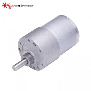 JGB37-3530 DC Gearmotor (12 RPM at 24 V)