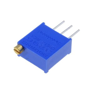 10pcs 10k Multi-Turn Potentiometer (3296W-103)