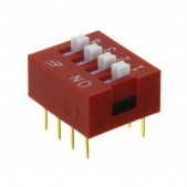 5pcs 4P DIP Switch