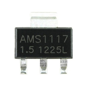 20pcs AMS1117-1.5V Linear Voltage Regulator (SOT-223)