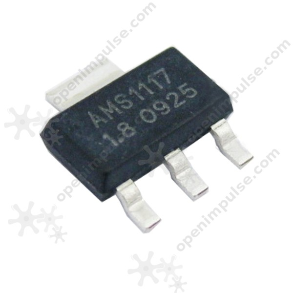 50Pcs AMS1117-1.5 AMS1117 LM1117 1.5V 1A SOT-223 Voltage Regulator IC