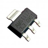 50pcs AMS1117-3.3V Linear Voltage Regulator (SOT-223)