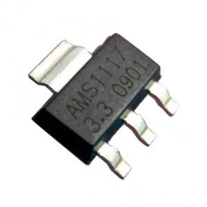 50pcs AMS1117-3.3V Linear Voltage Regulator (SOT-223)