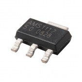 20pcs AMS1117-5V Linear Voltage Regulator (SOT-223)