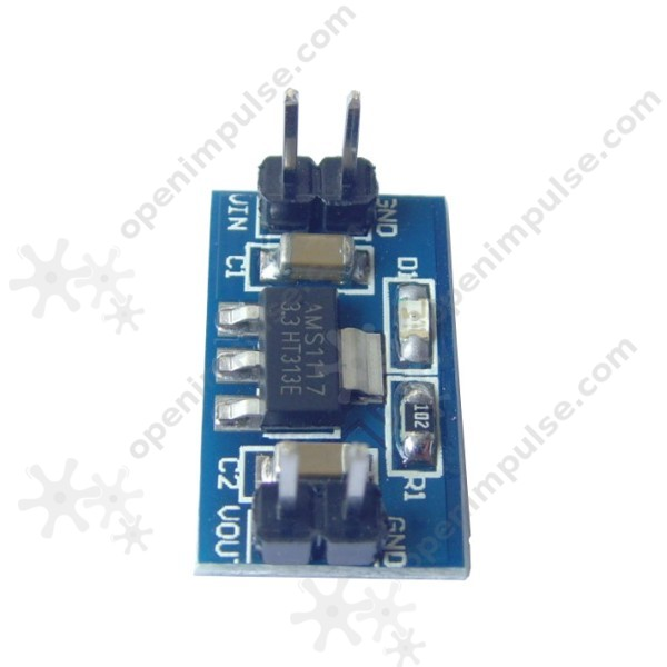 AMS1117-3.3V Voltage Regulator Module | Open ImpulseOpen ...