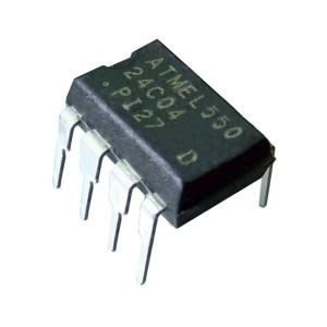10pcs AT24C02 Serial EEPROM (DIP-8)
