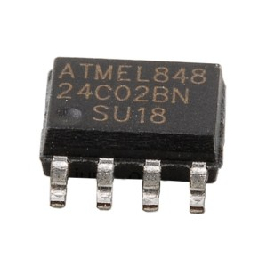 10pcs AT24C02 Serial EEPROM (SOP-8)