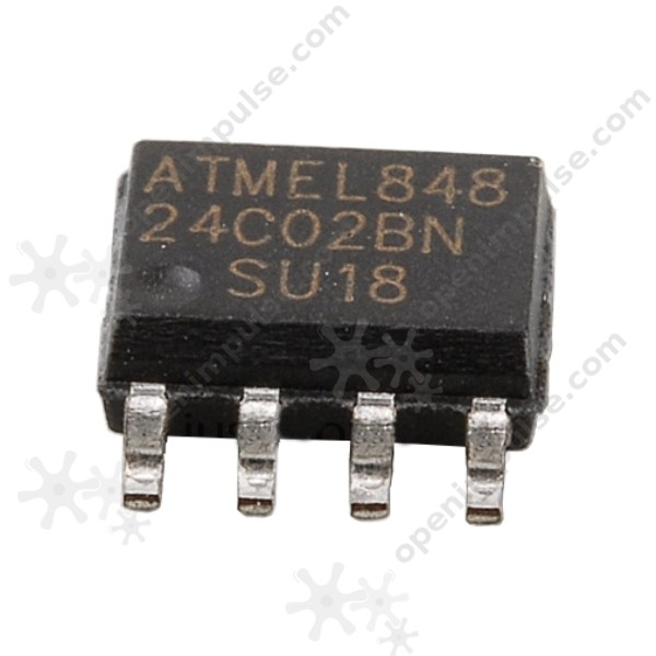 10Pcs AT24C02 AT24C02N 24C02 Eeprom SOP-8 cn