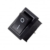 5pcs KCD1-101 Rocker Switch (Black)