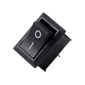 5pcs KCD1-101 Rocker Switch (Black)